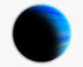 Gas Giant Planet Royalty Free Stock Photo