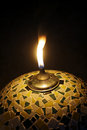 Gas Lamp Flame Royalty Free Stock Images