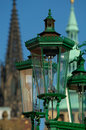 Gas lamps Stock Photography