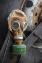 Gas mask - close up Stock Photos