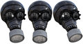 Gas Mask Illustration, Isolated Royalty Free Stock Photo