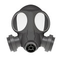 Gas mask isolated render on a white background Stock Images