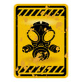 Gas mask sign Royalty Free Stock Photography
