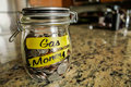 Gas Money Jar Royalty Free Stock Photo