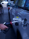 Gas petrol filling station Royalty Free Stock Photo