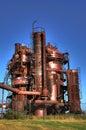 Gas plant unit Royalty Free Stock Image