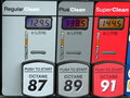 Gas Price Royalty Free Stock Photo