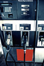 Gas Pump at filling stations Stock Photography