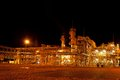 Gas refinery plant night view nobobdy Stock Photography