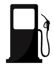 Gas station sign vector illustration Royalty Free Stock Image