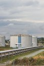 Gas Storage Terminal Royalty Free Stock Photo