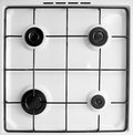 Gas stove Stock Image