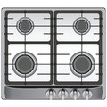 Gas stove the upper part of the modern four burners vector illustration Royalty Free Stock Image