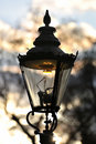 Gas street lamp, Westminster London England UK Stock Images