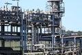 Gas terminal E Royalty Free Stock Photo