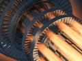 Turbina motor
