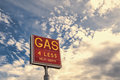 Gas 4 Less Royalty Free Stock Photo