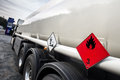 Gasoline transporter Royalty Free Stock Photo