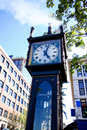 Gastown Steam Clock in Vancouver, Canada Royalty Free Stock Photo