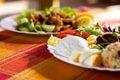 Gastronomisch voedsel Royalty-vrije Stock Foto's