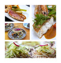 Gastronomy with fish Royalty Free Stock Photo
