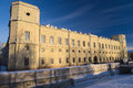 Gatchina palace in winter Royalty Free Stock Photo