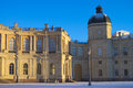 Gatchina palace in winter Royalty Free Stock Photo
