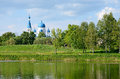 Gatchina, a suburb of St. Petersburg, Russia Royalty Free Stock Photo