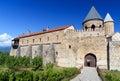 Gate of Alaverdi Monastery in the Alazani valley. Kakheti region. Georgia Royalty Free Stock Photo