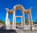 Gate in Aphrodisias Stock Photography