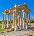 Gate in Aphrodisias Royalty Free Stock Image