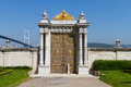 Gate in Beylerbeyi Palace Stock Photo