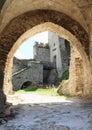 Gate of Castle Rabi Royalty Free Stock Photo