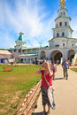 The gate church new jerusalem monastery istra moscow region of entry into Stock Photos
