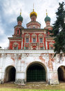 The Gate Church of Novodevichy Convent Royalty Free Stock Photo