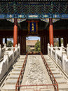 The gate of confucian temple in beijing Royalty Free Stock Image