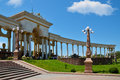 Gate of the First President Park in the city of Almaty Royalty Free Stock Photo