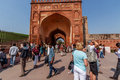 Gate inside Red Fort Royalty Free Stock Photo