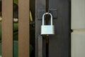 Gate locks Home Royalty Free Stock Photo