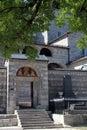 Gate of monastery Royalty Free Stock Photo