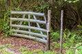 Gate In Nature Area