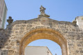Gate of St. Vito. Soleto. Puglia. Italy. Royalty Free Stock Photography