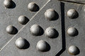 Gate studs Royalty Free Stock Photo