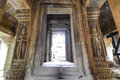 The gate of time at angkor wat cambodia Royalty Free Stock Image