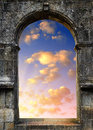 Gate to heaven Royalty Free Stock Photo