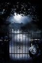 Gate To Moonlit Mansion