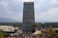 Gate tower gopuram ancient indian karnataka india Royalty Free Stock Photography