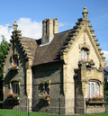 Gatehouse Cottage Royalty Free Stock Photos