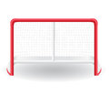 Gates goalie for the game of hockey vector illustr illustration on white background Stock Image