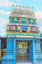 The gates to Murugan Temple